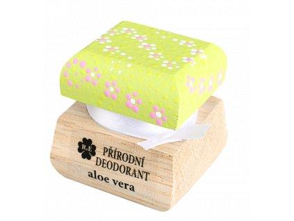 Přírodní deodorant aloe vera