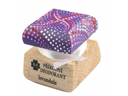Přírodní deodorant levandule
