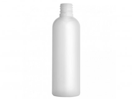 Lahvička PET bílá 100 ml závit 18 mm bez uzávěru