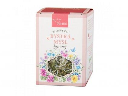 Bylinný čaj BYSTRÁ MYSL sypaný nebo porcovaný2