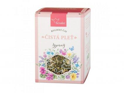 Bylinný čaj Čistá pleť sypaný nebo porcovaný2