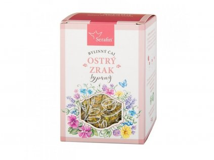 Bylinný čaj OSTRÝ ZRAK sypaný nebo porcovaný2