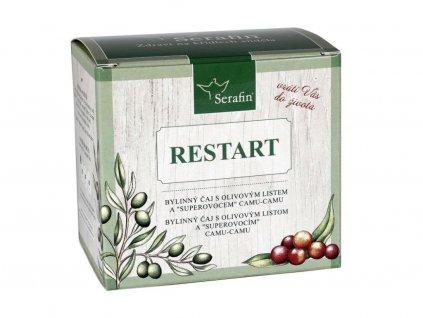 Bylinný čaj RESTART + kapsle Camu camu sypaný 1x50 g + 60 kapslí