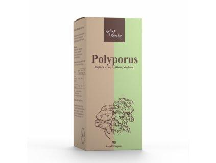 Polyporus s jitrocelem 40% polysacharidů