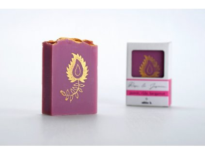 Tuhé mýdlo Rose & Jasmine 90g 2