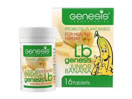Probiotické pastilky pro děti LB banana
