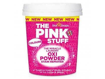 The Pink stuff OXI POWDER Zázračný prášek na skvrny na barevném prádle 1000 g