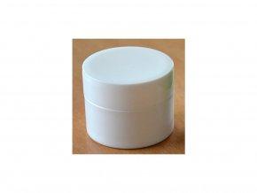 Doza KOLAPS lékárenská bílá 50 ml dvouplášťová bílé víčko