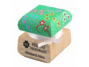 Přírodní deodorant citronová tráva