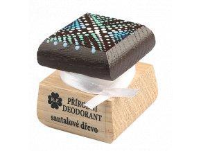Přírodní deodorant santalové dřevo