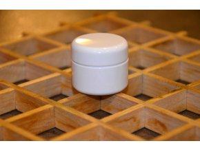 Kosmetická doza dvouplášťová 5 ml bílá 1