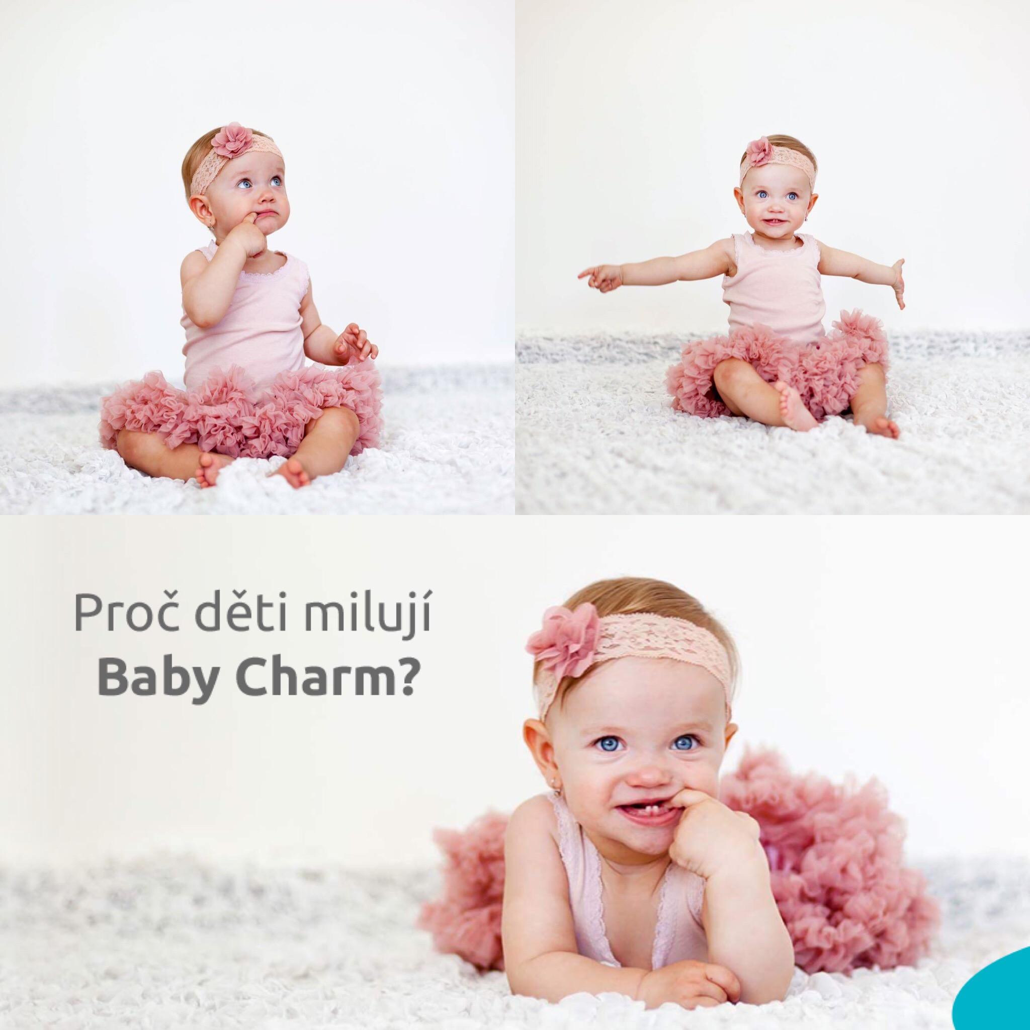 Vzorky plenek Baby Charm