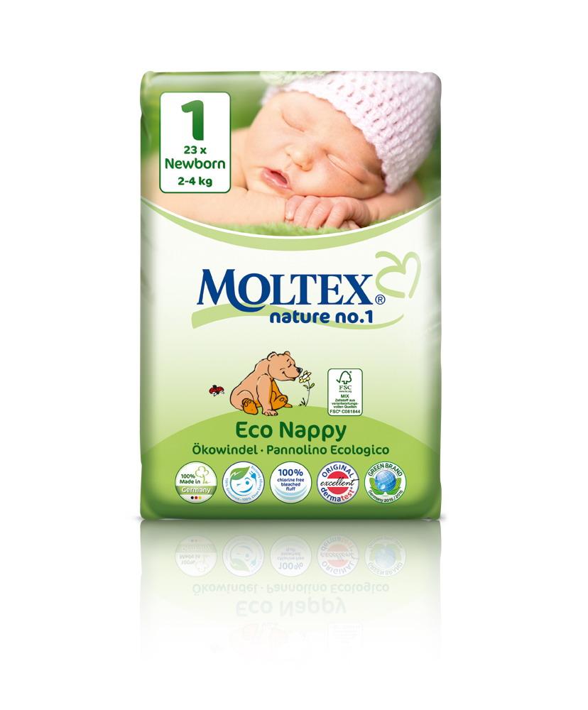 Ekologické plenky Moltex