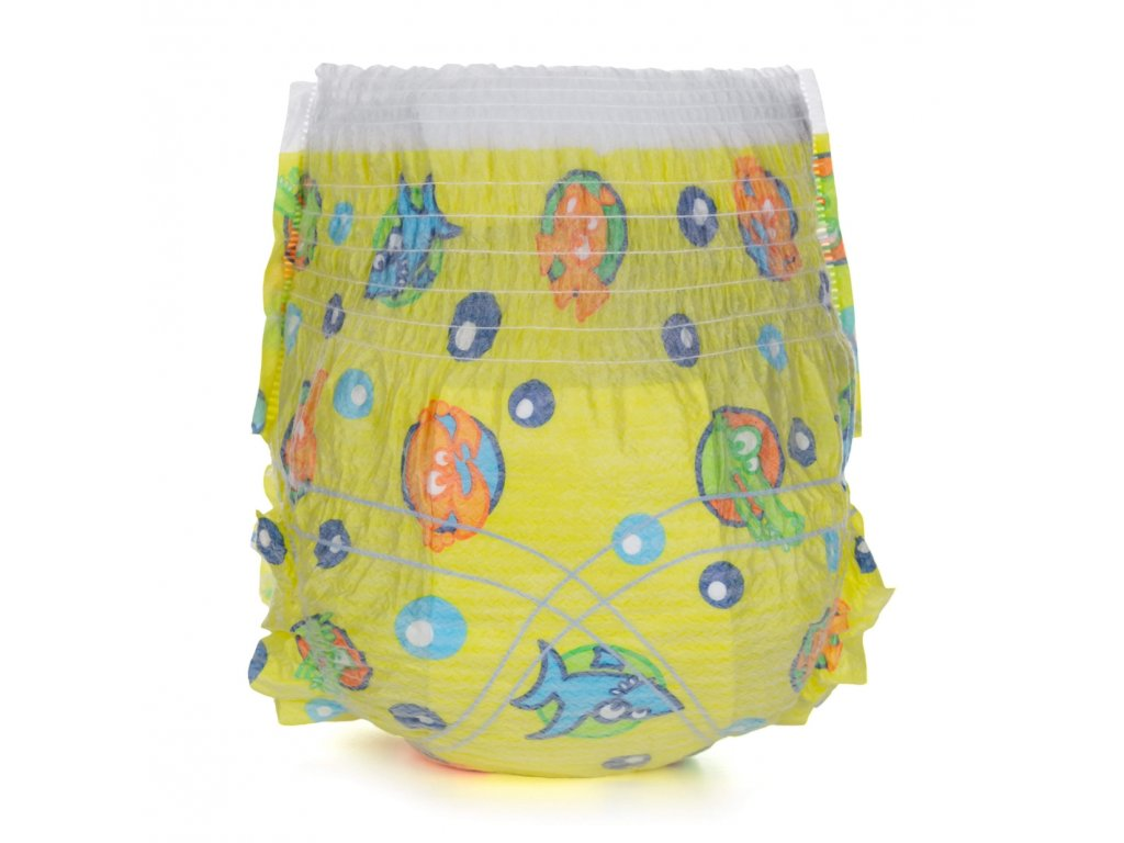 """Vzorkové balení plenek do vody Swimmies """"M"""" (12+ kg) - Doprava 1 Kč"""