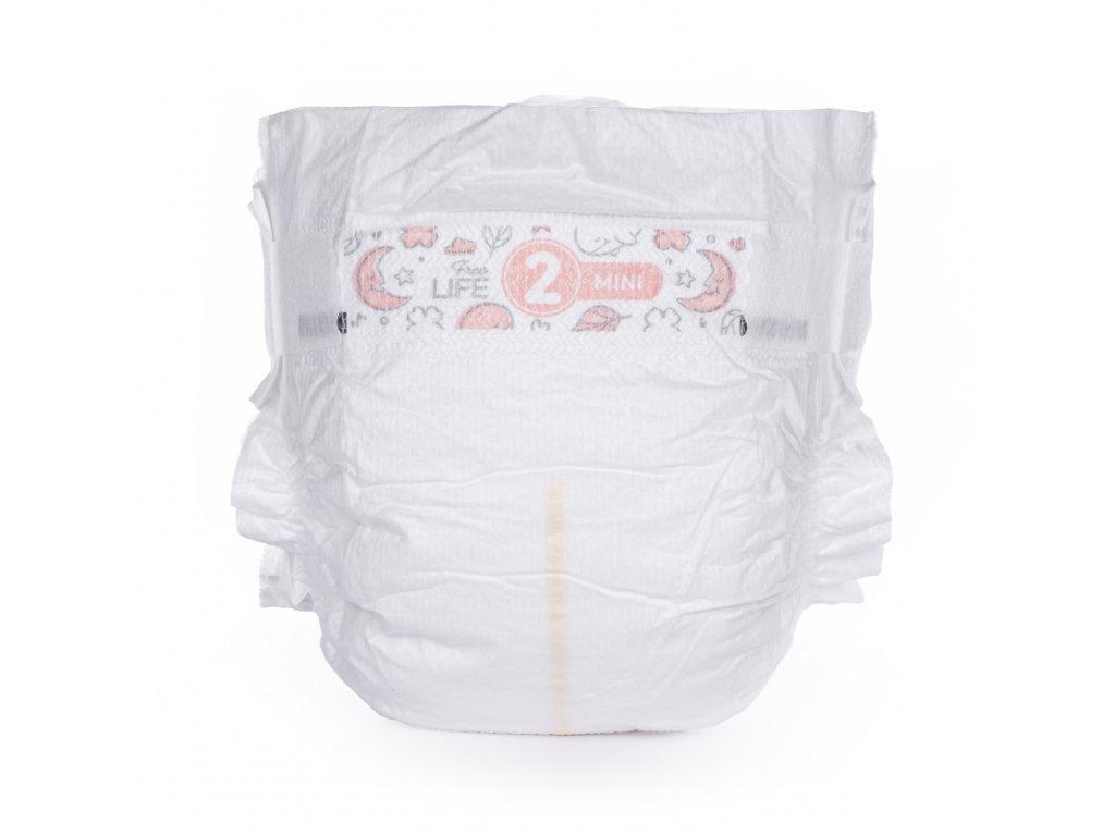 Vzorkové balení plenek BÉBÉCASH velikost 2 - Doprava 1 Kč.