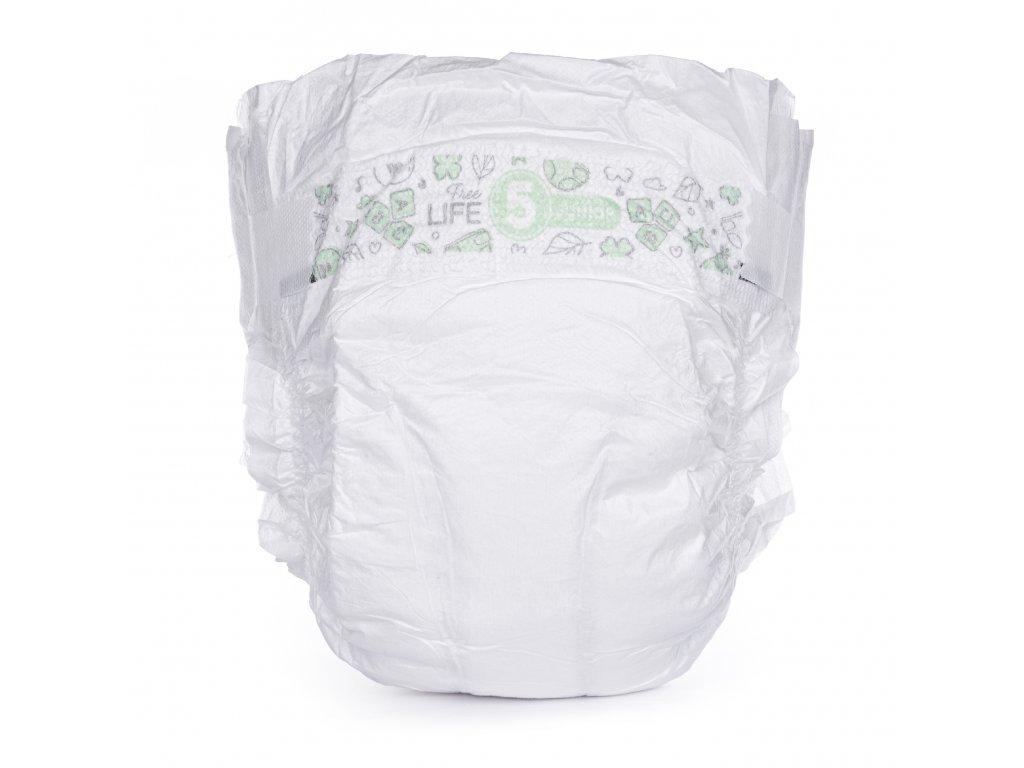 Vzorkové balení plenek BÉBÉCASH velikost 5 - Doprava 1 Kč
