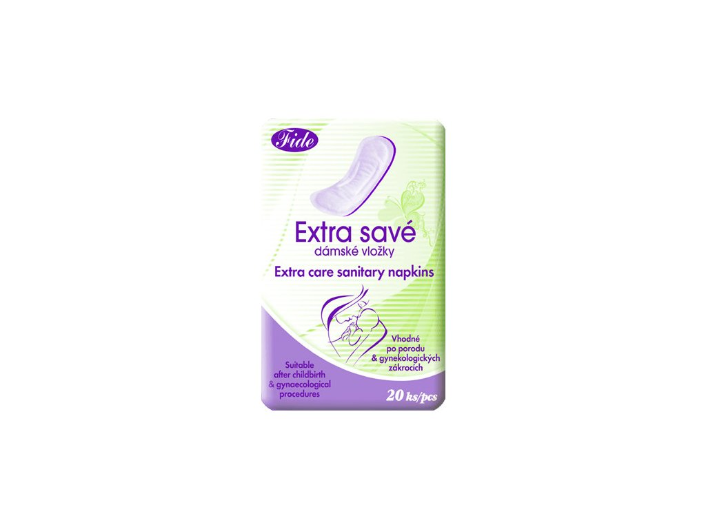 DHV Extra Savé vložky porodnické 20ks
