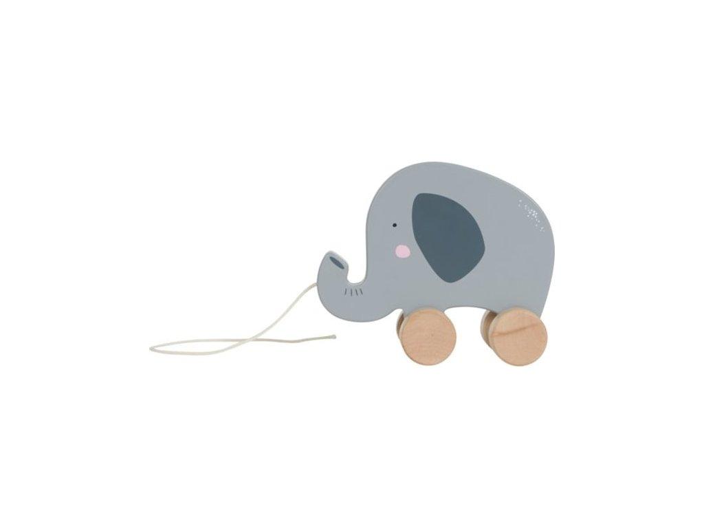 Little Dutch Dřevěný tahací slon