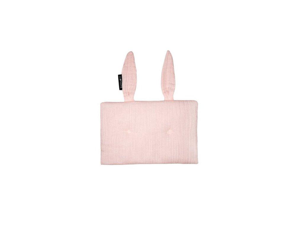 Polštářek králíček Světle růžový 1