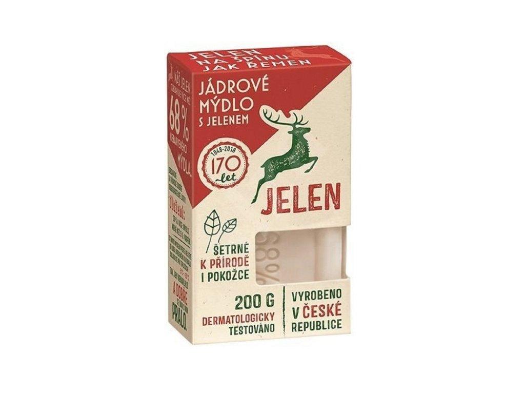 Jádrové mýdlo Jelen 200 g
