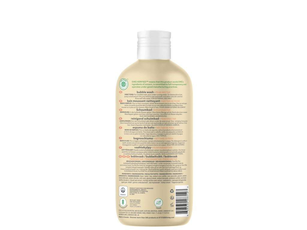 attitude bubble pear 473