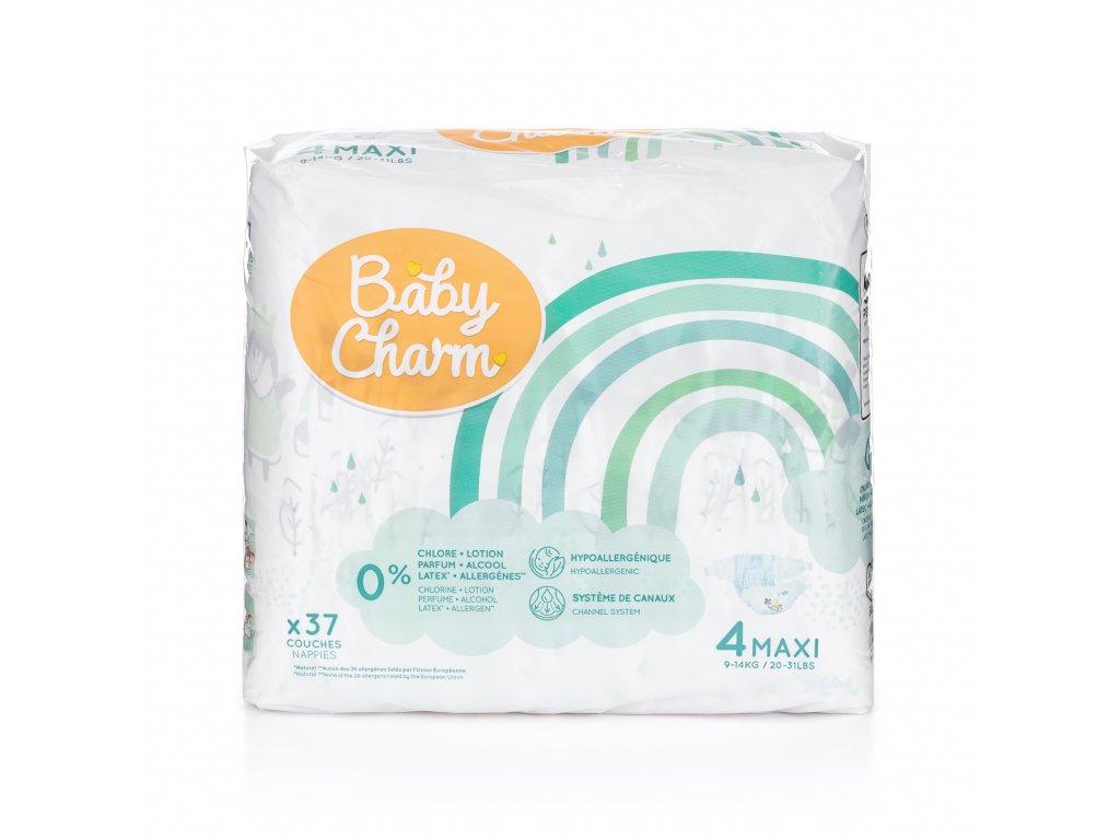 Baby Charm Super Dry Flex vel. 4 Maxi, 7 – 18 kg, 37 ks