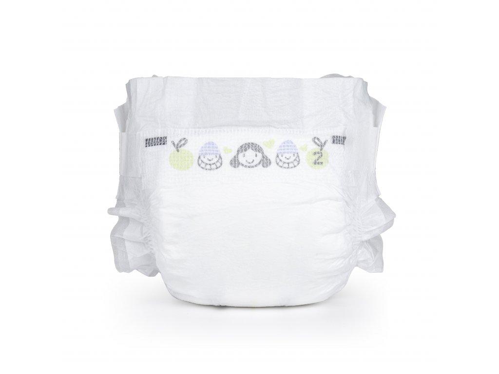 Vzorkové balení plenek Baby Charm velikost 2 - Doprava 1kč!