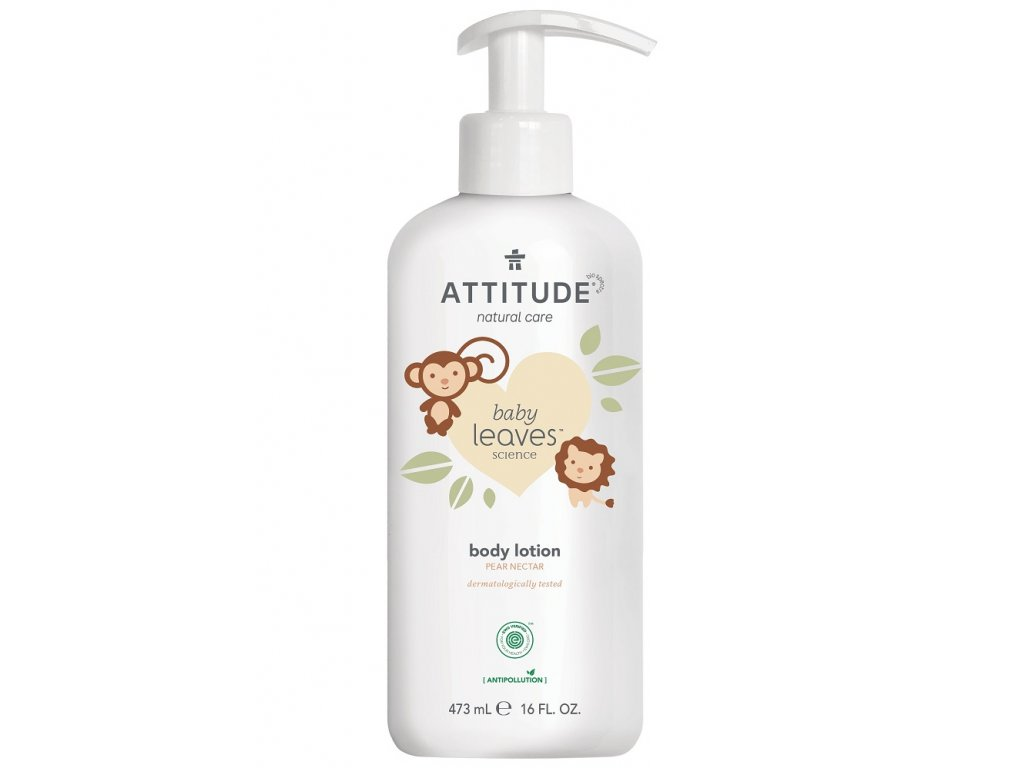 attitude lotion pear 473g