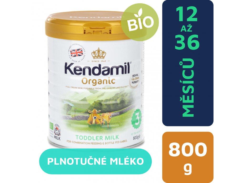 CZ Kendamil Organic batoleci mleko 800g 5056000501516
