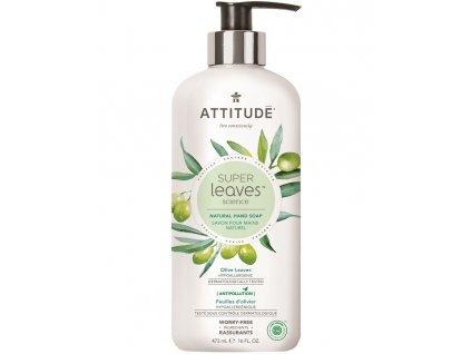 attitude super leaves mydlo olive