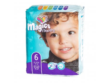 687 3 magics flexidry velikost 6 xl 15 kg 23 ks