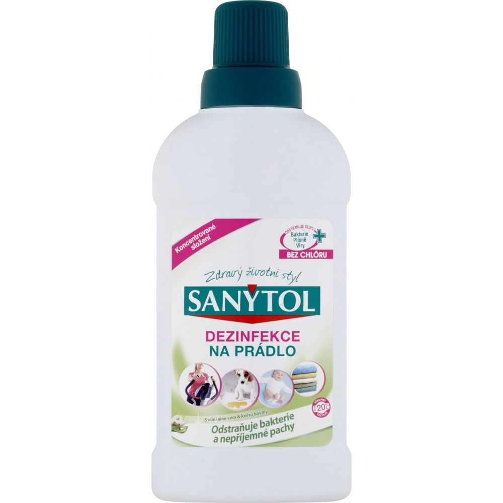 Sanytol - Dezinfekce na prádlo Aloe Vera 500 ml