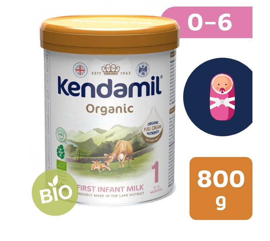 Kendamil BIO Nature počáteční mléko 1 (800 g) DHA+