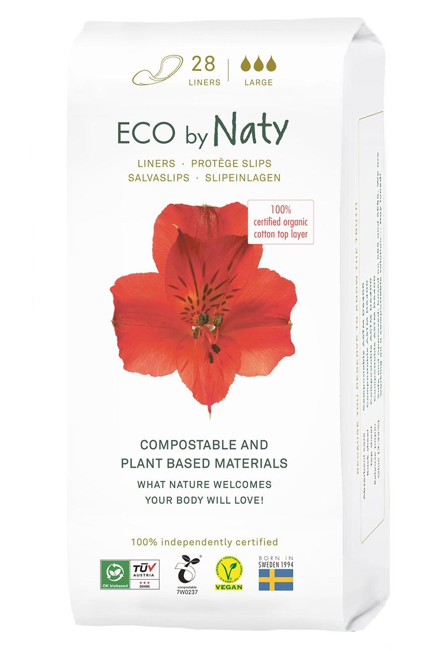 Eco Naty Dámské ECO slipové vložky Naty - super (28 ks)