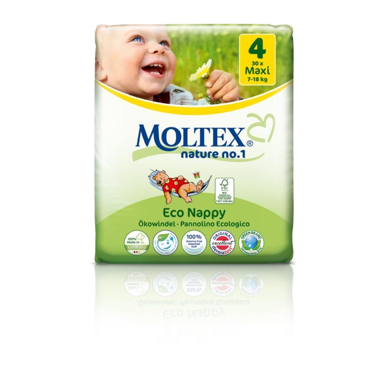 Plienky Moltex ekologické
