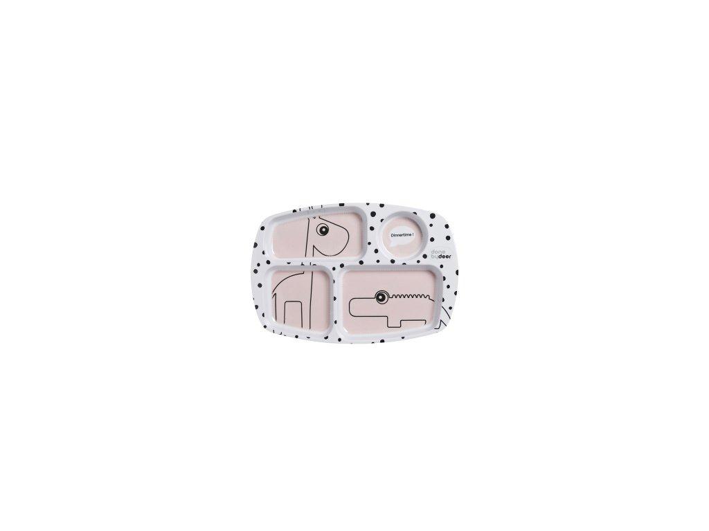 2387 deleny tanier happy dots ruzovy done by deer