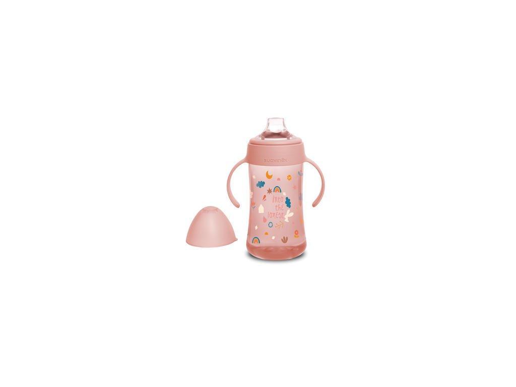 druhá flaša ružová