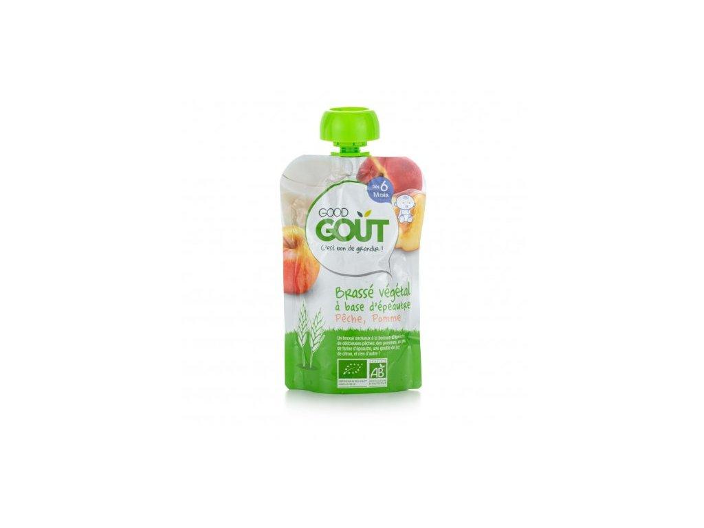 2021 good gout bio spaldovy dezert broskev s jablkem 90 g