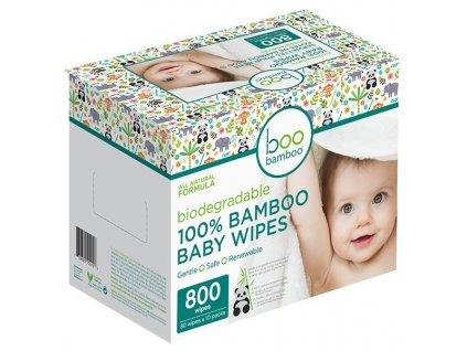 baby boo bamboo vlhcene obrusky 80 10 multipack