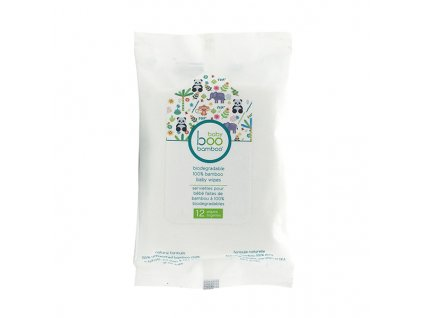 10024 BBB BiodegradableBabyWipes12PK