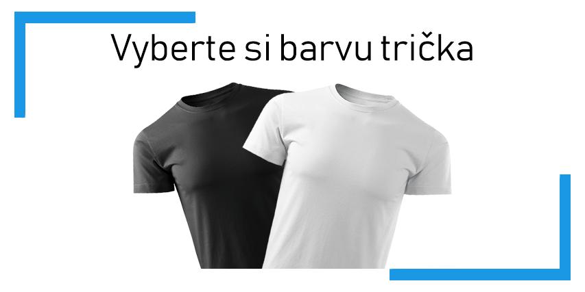 Vyberte si barvu trička