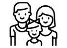 Rodinná trička - stejná pro celou rodinu