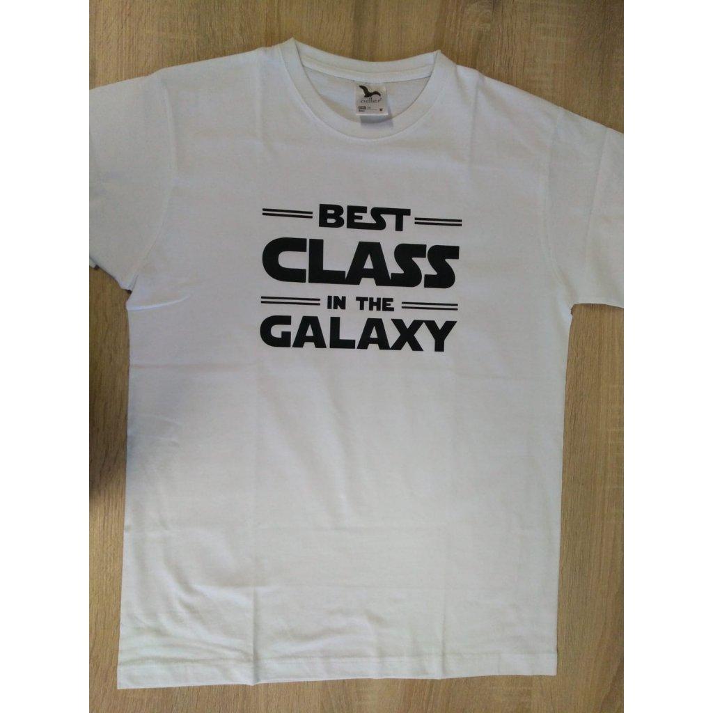 2693 unisex tricko bezove xs best class in the galaxy