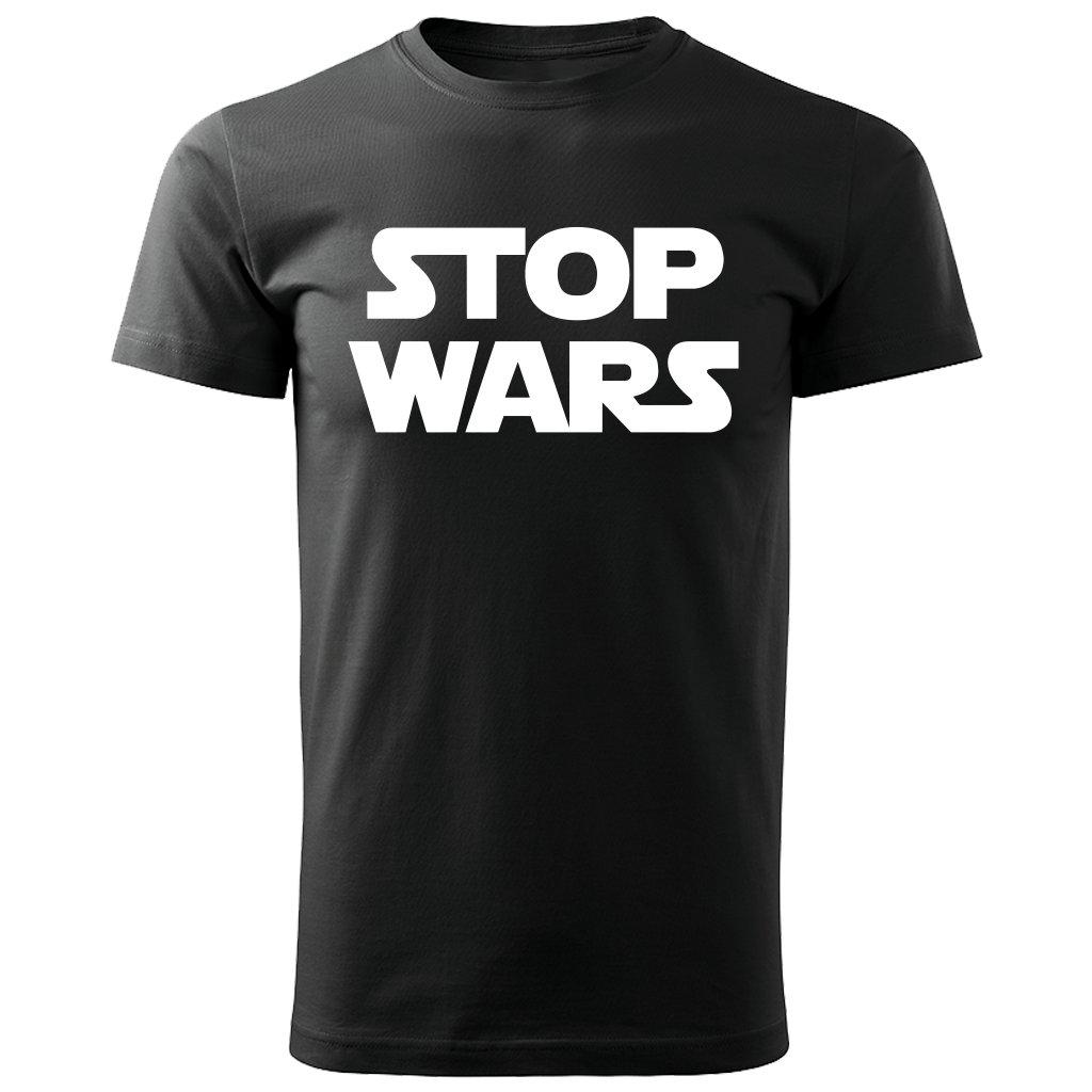 Pánské triko Star Wars - černé