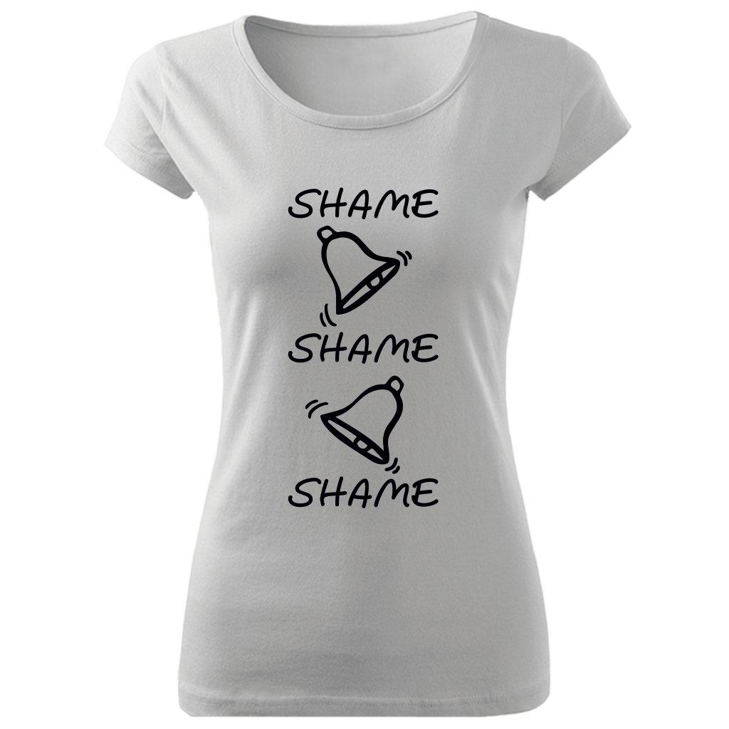 Dámské tričko Shame bílé