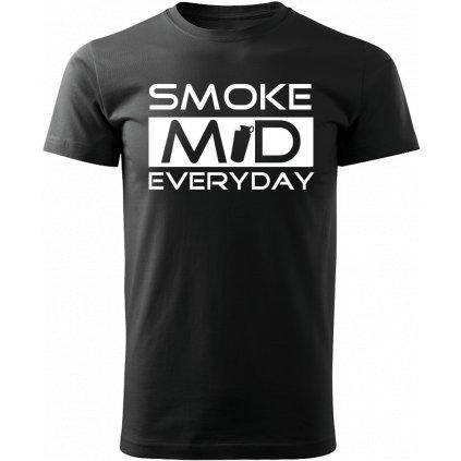 Pánské herní tričko Counter Strike Smoke mid - černé
