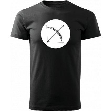 Černé tričko střelec