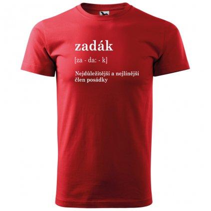 Pánské vodácké tričko zadák černé