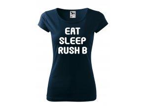 CSG Eat Sleep 2 bílé D