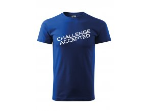 challenge accepted černé P
